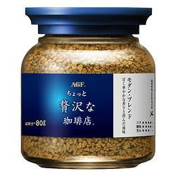 AGF蓝白盖速溶咖啡粉80g    26.67元