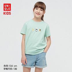 UNIQLO优衣库Pokemon宝可梦系列儿童印花T恤    39元