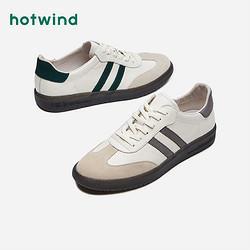 hotwind热风男鞋新款韩版休闲鞋时尚复古德训鞋板鞋潮男H13M0711249元