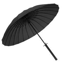 Neyankex日系武士长柄雨伞男士帅气大号双人刀伞剑伞学生森系复古简约 36.9元