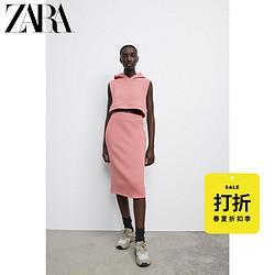 ZARA[折扣季]女装连帽短款运动背心0026487062039元