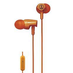 audio-technica铁三角CLR100is入耳式通话有线耳机耳麦音乐耳机    128元