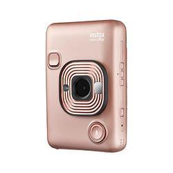 FUJIFILM富士instax立拍立得数模一次成像相机(具有手机照片打印功能)miniLiplay腮红金    1279元