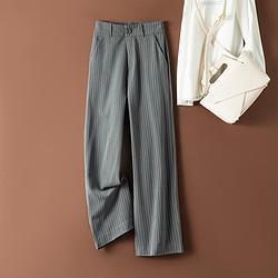 La Chapelle 拉夏贝尔 L69T88890190 女士高腰阔腿裤 79元
