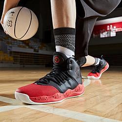 QIAODAN乔丹实战球鞋新款网面透气缓震耐磨防滑男款篮球鞋运动鞋 159元