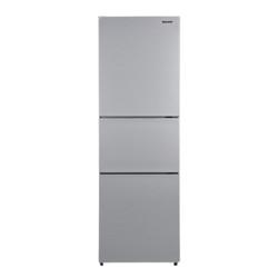 Panasonic松下纤雅・自由嵌入系列NR-C271WX-S风冷三门冰箱265L银色 3490元
