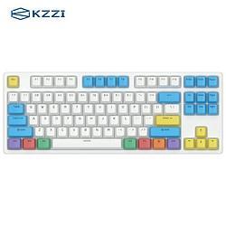 KZZI珂芝K87三模机械键盘BOX茶轴87键359元