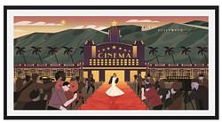 维格列艺术DecueWu《走红毯》25.2x46cm纸本微喷装饰画    610元