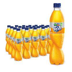 Coca-Cola可口可乐芬达Fanta零卡Zero无糖无卡橙味汽水碳酸饮料500ml*24瓶整箱装 51.84元