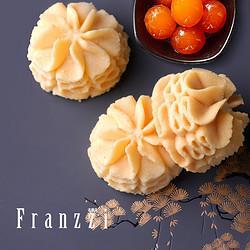 Franzzi法丽兹雪沙小花曲奇80g 29.8元