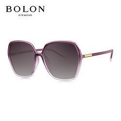 BOLON暴龙太阳镜多边形框时尚眼镜女款偏光墨镜BL5032C30