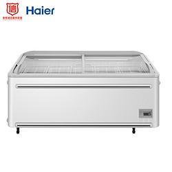 Haier海尔商用卧式冰柜大型商场生活超市展示柜SC/SD-747CGN 10999元