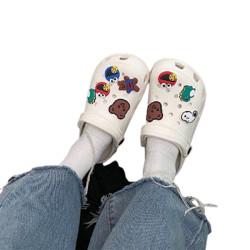 XuFeng絮枫女士拖鞋动物款白色38-39