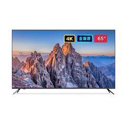 MI小米电视E65X65英寸全面屏4K超高清HDR蓝牙遥控内置小爱人工智能网络平板电视L65M5-EA 3499元