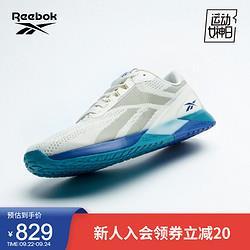 Reebok锐步官方2021秋季新款男子NanoX1GZ5393多用途舒适健身训练鞋GZ5393_白色/灰褐色/蓝色43 829元