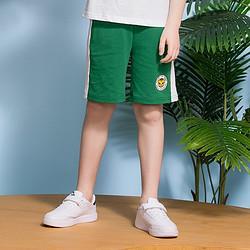 ANTA安踏男中大童针织五分裤运动休闲裤透气不易变形安踏儿童裤子 39元