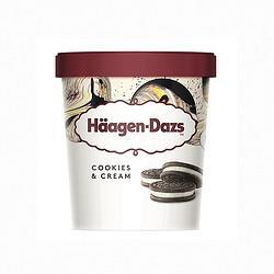 H?agen・Dazs哈根达斯曲奇香奶口味冰淇淋473ml 84元