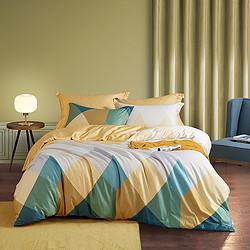 LOVO乐蜗家纺纯棉全棉被套枕套床单床上用品三/四件套    259元