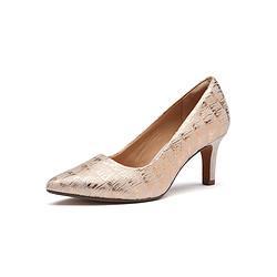 Clarks其乐clarks其乐女鞋2021春季新款时尚商务精致正装浅口高跟鞋单鞋女    543元