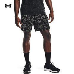 UNDERARMOUR安德玛官方UA男子7英寸跑步运动短裤1361496黑色001L    349元