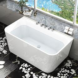 Micoe四季沐歌小户型亚克力浴缸卫生间独立家用一体欧式浴池大浴盆 2988元