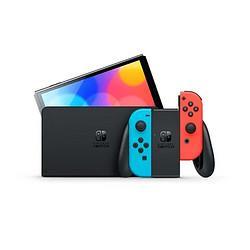 Nintendo任天堂海外版SwitchOLED款高续航游戏机红蓝3389元