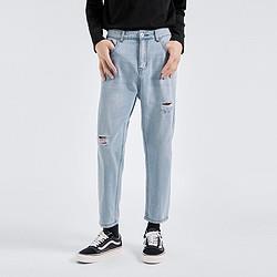 GXG男士舒适牛仔裤GB105239EV602 125元