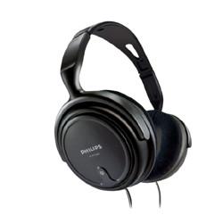 PHILIPS飞利浦SHP2000耳罩式头戴式有线耳机黑色3.5mm 89元
