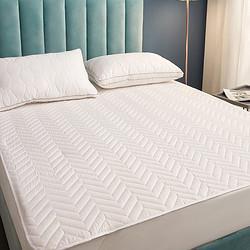 LUOLAI罗莱家纺罗莱床垫子床护垫软垫有床垫宿舍款薄款/加厚款大豆防螨抗菌纤维床垫-白色(薄款)180cm*200cm 129元