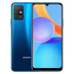 HONOR荣耀Play5T活力版5000mAh大电池6.5英寸护眼屏极光蓝白条分期6GB128GB