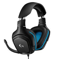 logitech罗技G431耳罩式头戴式降噪有线耳机黑色3.5mm/USB口 299元