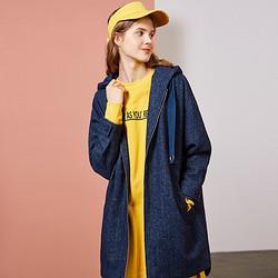 7.ModifierN7.MODIFIER冬季新款潮韩版宽松中长款毛呢时尚学生长袖外套 209元