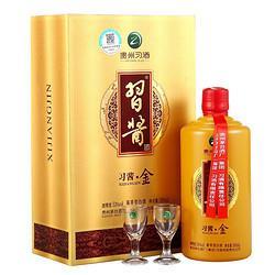有券的上:XIJIU习酒习酱・金53%vol酱香型白酒500ml单瓶装 184.4元