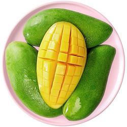 MANGO芒果越南青皮芒果1.5kg装单果200g以上产地直发新鲜水果 13.9元
