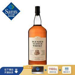 Member'sMark会员制仓储店英国进口苏格兰调配威士忌1.75L进口洋酒口感温润 80元